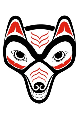 Coyote II art print by French Lon for $43.75 CAD