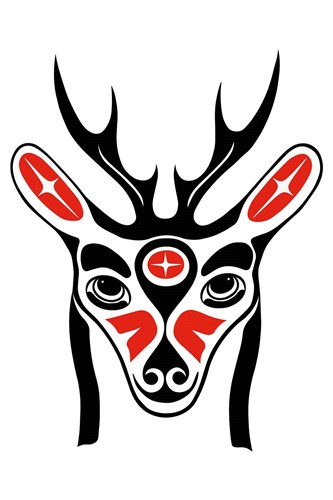 Deer art print by French Lon for $43.75 CAD