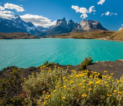 Chile, Patagonia, Torres Del Paine National Park The Horns Mountains And Lago Pehoe art print by Jaynes Gallery / Danita Delimont for $48.75 CAD