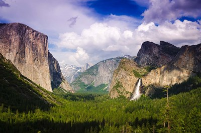 Panoramic View Of Yosemite Valley art print by Russ Bishop / DanitaDelimont for $68.75 CAD
