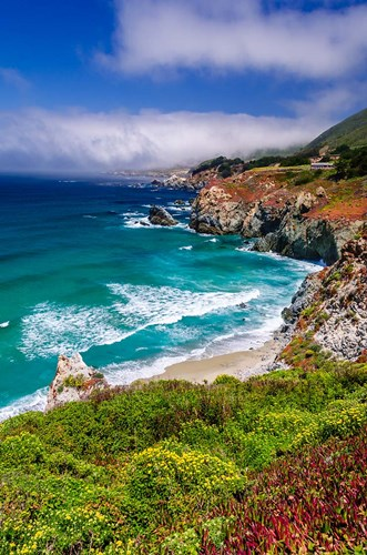 The Big Sur Coast At Rocky Point art print by Russ Bishop / DanitaDelimont for $42.50 CAD