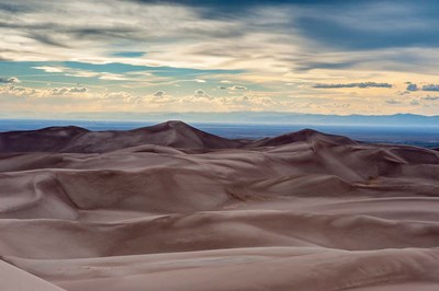 Great Sand Dunes National Park And Sangre Cristo Mountains, Colorado art print by Howie Garber / Danita Delimont for $68.75 CAD