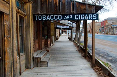 Tobacco Gold Rush Store In Virginia City, Montana art print by Richard Wright / DanitaDelimont for $58.75 CAD