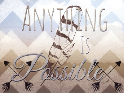 Anything Is Possible art print by Crockett for $20.00 CAD