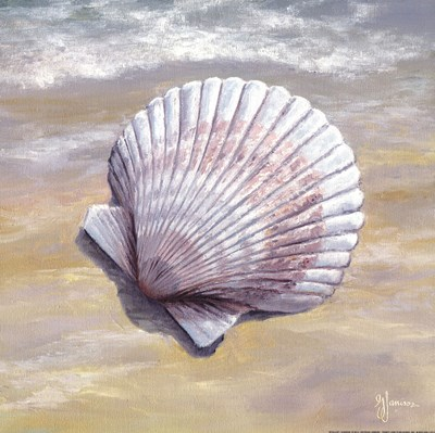 Scallop art print by Georgia Janisse for $16.25 CAD