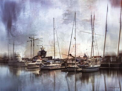 Sail Away with Me art print by Kathy Jennings for $20.00 CAD