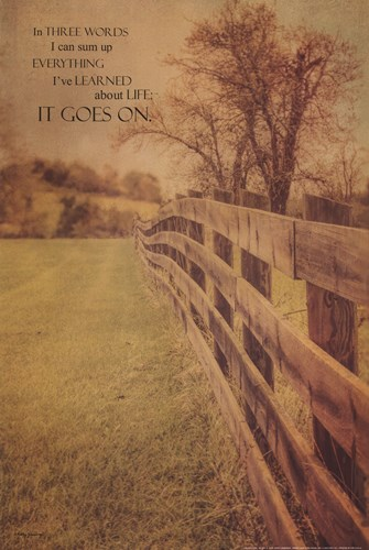 Life Goes On art print by Kathy Jennings for $21.25 CAD