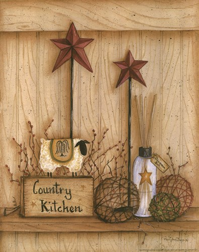 Country Kitchen art print by Mary Ann June for $16.25 CAD