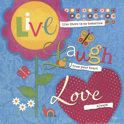 Love Always art print by Mollie B. for $16.25 CAD