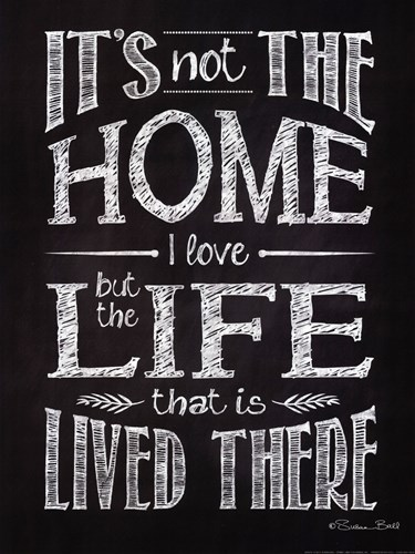 It's Not The Home art print by Susan Ball for $20.00 CAD
