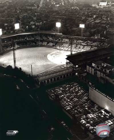 Forbes Field - Night Shot art print by Unknown for $21.25 CAD