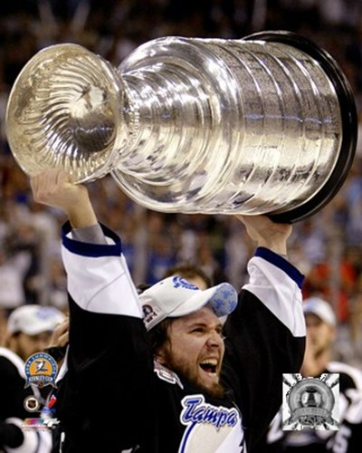 Martin St. Louis - '04 Stanley Cup (#06) art print by Unknown for $21.25 CAD