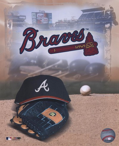 Atlanta Braves - '05 Logo / Cap and Glove art print by Unknown for $21.25 CAD