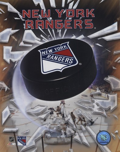 New York Rangers 2005 - Logo / Puck art print by Unknown for $21.25 CAD