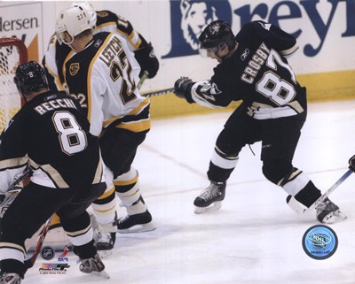 2005 - Sidney Crosby  1st Goal art print by Unknown for $21.25 CAD