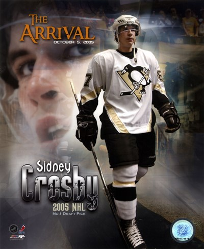 10/5/05 -  Sidney Crosby / The Arrival art print by Unknown for $21.25 CAD