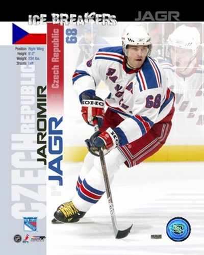 Jaromir Jagr - Ice Breakers Composite art print by Unknown for $21.25 CAD