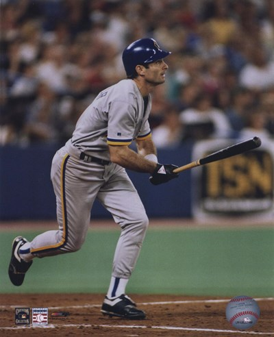 Paul Molitor - Batting Action art print by Unknown for $21.25 CAD