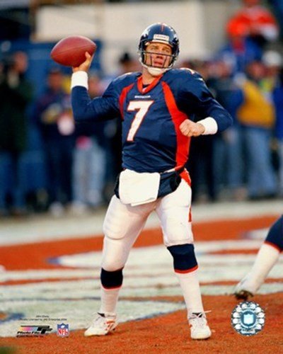 John Elway - Passing Action art print by Unknown for $21.25 CAD