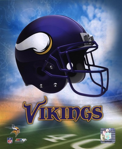 2009 Minnesota Vikings Team Logo art print by Unknown for $21.25 CAD