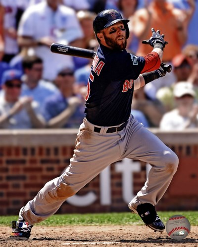 Dustin Pedroia 2012 Action art print by Unknown for $21.25 CAD