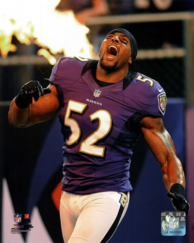Ray Lewis 2012 Action art print by Unknown for $21.25 CAD