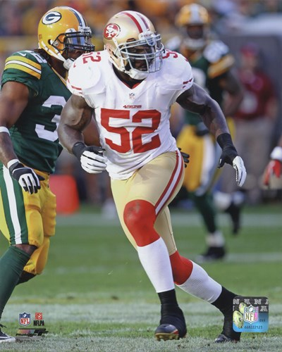 Patrick Willis 2012 Action art print by Unknown for $21.25 CAD
