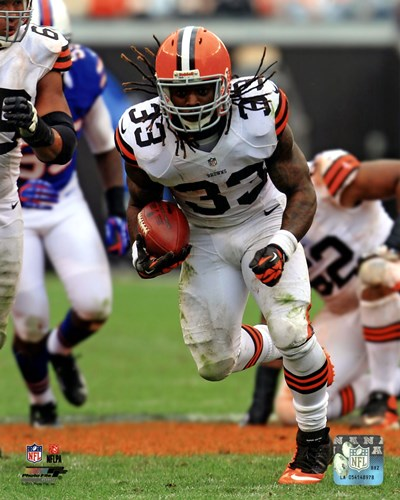Trent Richardson On The Football Field art print by Unknown for $21.25 CAD