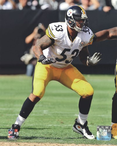 Maurkice Pouncey 2012 Action art print by Unknown for $21.25 CAD