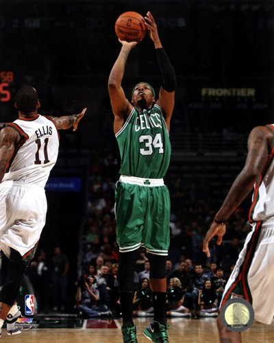 Paul Pierce 2012-13 Action art print by Unknown for $21.25 CAD