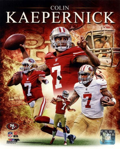 Colin Kaepernick 2012 Portrait Plus art print by Unknown for $21.25 CAD