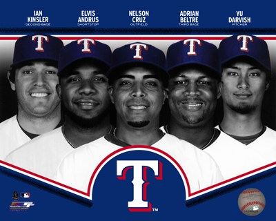 Texas Rangers 2013 Team Composite art print by Unknown for $21.25 CAD