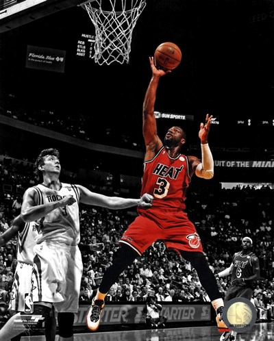 Dwyane Wade 2012-13 Spotlight Action art print by Unknown for $21.25 CAD