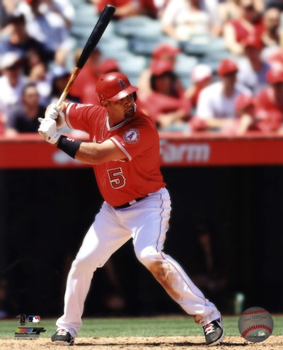 Albert Pujols 2013 Action art print by Unknown for $21.25 CAD