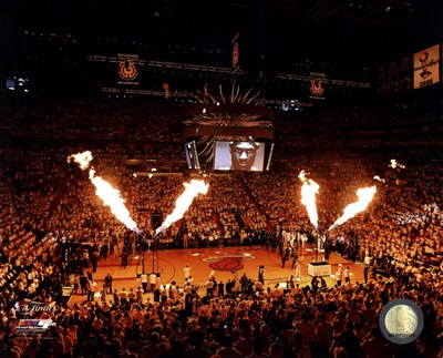 American Airlines Arena Game 1 of the 2013 NBA Finals art print by Unknown for $21.25 CAD