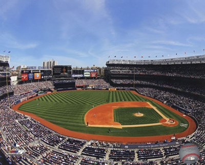 Yankee Stadium 2013 art print by Unknown for $21.25 CAD