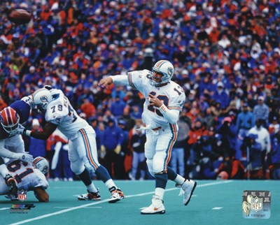 Dan Marino 1995 Action art print by Unknown for $21.25 CAD