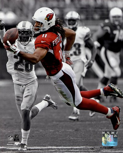 Larry Fitzgerald 2013 Spotlight Action art print by Unknown for $21.25 CAD
