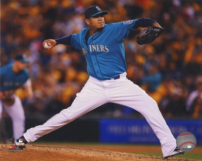 Felix Hernandez 2014 art print by Unknown for $21.25 CAD