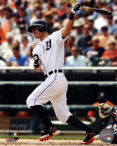 Ian Kinsler 2014 art print by Unknown for $21.25 CAD