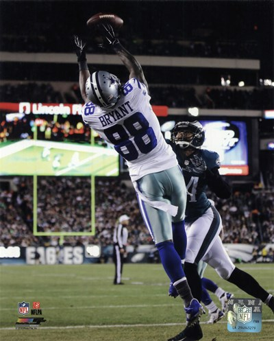 Dez Bryant 2014 catching the ball art print by Unknown for $13.75 CAD