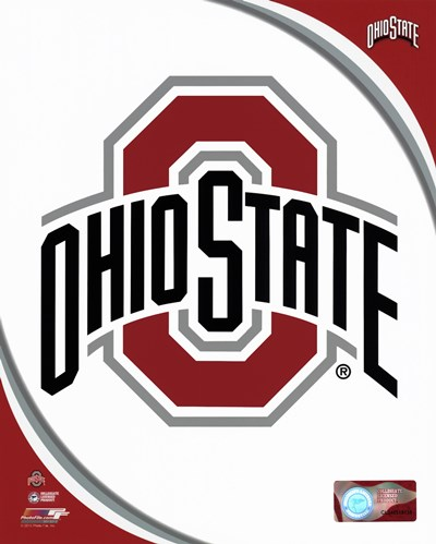 Ohio State University Buckeyes Team Logo art print by Unknown for $13.75 CAD