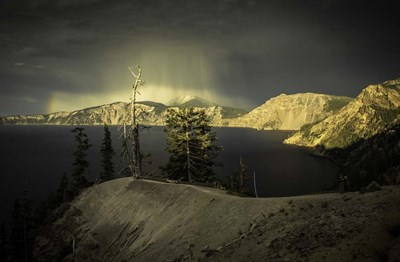 Crater Lake 2 art print by Duncan for $43.75 CAD