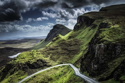 The Quiraing 3 art print by Duncan for $43.75 CAD