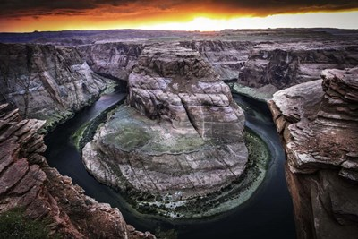 Horshoe Bend 4 art print by Duncan for $43.75 CAD