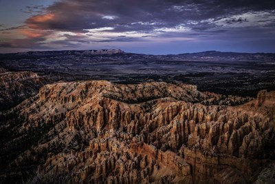 Bryce Canyon Sunset 2 art print by Duncan for $43.75 CAD