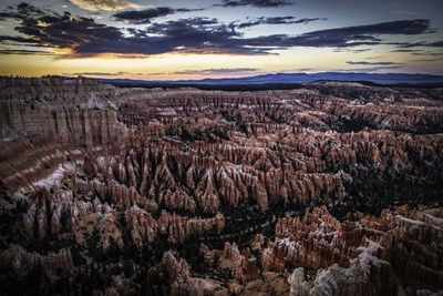 Bryce Canyon Sunset 3 art print by Duncan for $43.75 CAD