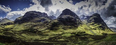 Glen Etive Panorama art print by Duncan for $45.00 CAD