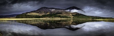 Glen Etive Panorama 2 art print by Duncan for $40.00 CAD