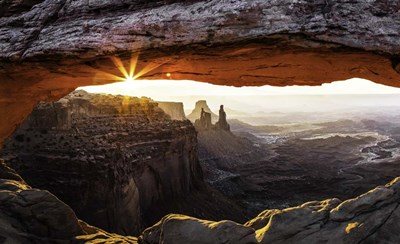 Mesa Arch Panorama art print by Duncan for $41.25 CAD